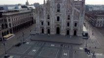 Coronavirus, Milano deserta: il drone sopra una città irreale
