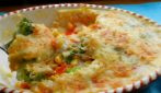 Corn bake with bechamel sauce: a complete and rich meal