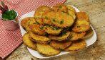 Medalhões de berinjela fritos: crocantes por fora e macios por dentro!