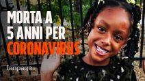 """Skylar, morta a 5 anni per Coronavirus, la mamma: """"Piangeva sempre per il forte dolore"""""""