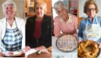 These Italian grandmas gave Easter wishes in front of traditional recipes