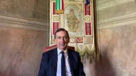 """Sala augura Buona Pasqua e cita Rilke: """"Milano risorgerà. Il futuro entra in noi prima che accada"""""""