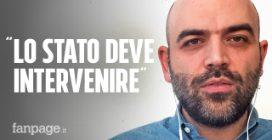 """Roberto Saviano: """"Il Coronavirus è l'ideale per le mafie, lo Stato intervenga"""""""