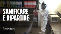 Sanificare aziende e ambienti di lavoro prima della riapertura: ecco come funziona