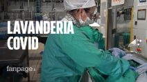 """Ferrara, in una lavanderia che sterilizza biancheria ospedaliera: """"Ci siamo scoperti indispensabili"""""""