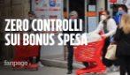 """Bonus spesa Covid, ad Arzano 100 euro per tutti: """"Non ci sono controlli, così si aiuta la camorra"""""""