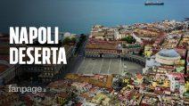 Covid-19, Napoli ha rispettato le regole: è rimasta a casa. Lo dimostrano queste immagini dal drone