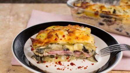 Torta de batata e berinjela: cremosa, saborosa e fácil de fazer!