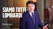 """Il Presidente Conte a Bergamo per incontrare i medici in prima linea: """"Siamo tutti lombardi"""""""
