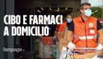 Spesa e medicinali consegnati gratuitamente agli over 65: la missione della Croce verde a Milano