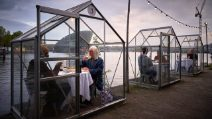 In this anti-Coronavirus restaurant you can dine in greenhouses surrounded by a magical atmosphere