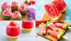 8 Ricette originali e creative da preparare con l'anguria!