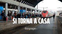 """Fase 2 a Milano, torna al Sud chi era rimasto in città: """"Voglio riabbracciare i miei genitori"""""""