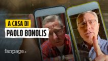 """A casa di Paolo Bonolis: """"Con Mediaset odio e amore. Tranquilli, non voglio fare l'influencer"""""""