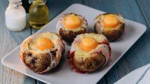Barquinhos de batata e ovo: ideais para um jantar gostoso e saboroso!