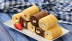 Sponge and fruit rolls: they are addictive!