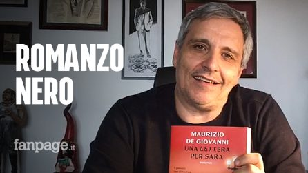 """Maurizio De Giovanni racconta """"Una lettera per Sara"""" e riscrive al femminile il noir italiano"""