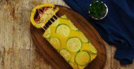 Rocambole de omelete de abobrinha: a ideia para um jantar cheio de sabor!