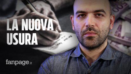 """Roberto Saviano risponde alle polemiche: """"Davvero non sapevate dell'usura dei colletti bianchi?"""""""