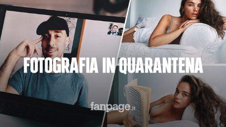 Shooting fotografici su FaceTime: le fotografie in videochiamata di Alessio Albi