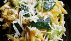 Pennette con zucchine: la ricetta del primo piatto veloce e saporito