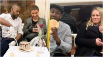 This man arranges candlelight dinners on train to woo commuters: the reactions are hilarious
