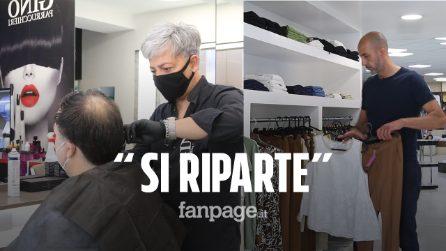 """Catania, Fase 2 bis: riaprono negozi e parrucchieri: """"C'è entusiasmo ma stiamo attenti"""""""