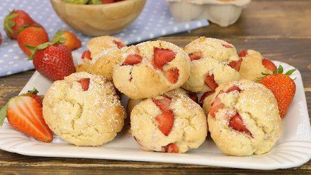 Biscotti morbidi alle fragole: perfetti per la colazione o per una merenda golosa!
