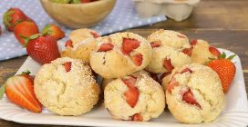 Easy Strawberry Cookies: ready in 15 minutes!