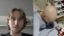 Video a sorpresa per il piccolo tifoso malato di cancro: il bel gesto di Luka Modric