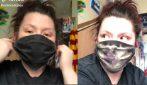"""La mascherina """"magica"""" che cambia colore con il respiro: una sorpresa per i fan di Harry Potter"""