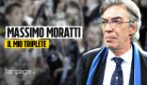 """Massimo Moratti: """"Triplete Inter resterà unico. La Juve? Non ne sono stato tifoso nelle finali"""""""