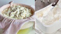 Come fare il formaggio cremoso in casa con soli 3 ingredienti!