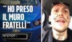 """""""Ho preso il muro fratellì"""": auto sequestrata e patente ritirata per il rapper 1727wrldstar"""