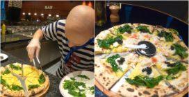 Granchio reale dell'Alaska, caviale e patata agria: la pizza di 200€ viene da Dubai