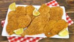 Crispy Baked Chicken Breasts: the recipe to make them crispy without eggs!