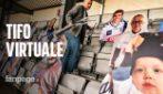 Danimarca, la prima partita con tifo virtuale: schermi e collegamenti dagli spalti con Zoom