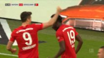 Bayern Monaco-Fortuna Dusseldorf 5-0: gol e highlights