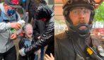 Bambina colpita con spray al peperoncino, spruzzato da un poliziotto