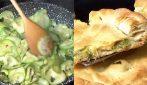Focaccia ripiena con zucchine: la ricetta rustica e semplice da preparare
