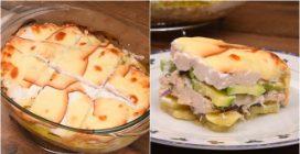 Torta de frango e legumes light: a receita para um jantar saboroso e com poucas calorias!