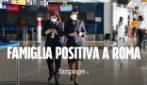 Famiglia positiva al coronavirus arriva dagli Stati Uniti a Roma: focolaio subito isolato