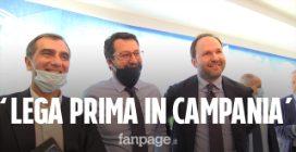 """Salvini a Napoli: """"Presto il candidato del centrodestra per la Campania. Maresca? Mi piace"""""""