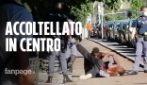 Lite in centro a Milano, accoltellato alla schiena nei giardinetti dello spaccio