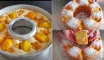 Ciambella soffice alle pesche: la torta gustosa senza lievito