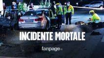 Incidente mortale a Amola, 4 morti e 2 feriti: tra le vittime anche una bambina di 9 anni