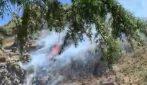 Aereo precipita a Collesano, divampano le fiamme: a bordo due persone