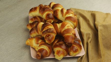 Croissants fofinhos: receita simples e rápida!