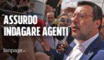 """Salvini: """"Assurdo indagare gli agenti, al più presto pistole elettriche nelle carceri"""""""