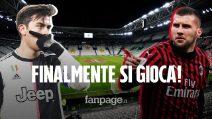 Coppa Italia, si ritorna a giocare con Juventus-Milan: le probabili formazioni